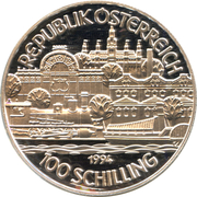 100 Schilling (Kaiser Franz Joseph I) -  obverse