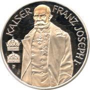 100 Schilling (Kaiser Franz Joseph I) -  reverse