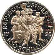 100 Schilling (Leopold III) -  obverse