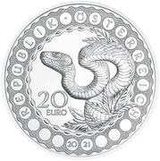 20 Euro (Australia – the Serpent Creator) – obverse