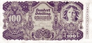 100 Schilling (Second issue) – obverse