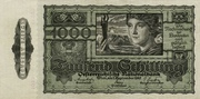 1000 Schilling (Second issue) – obverse
