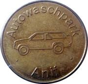 Car Wash Token - Autowaschpark Anif – obverse