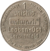 1 Unichip - Uniwash (Leoben-Ost Lerchenfeld) – obverse