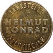Car Wash Token - Helmut Konrad Tankstelle (Feldkirchen) – obverse