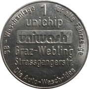 1 Unichip - Uniwash (Graz-Webling) – obverse