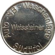 Car Wash Token - SB Waschanlage Weissteiner – reverse