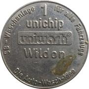 1 Unichip - Uniwash (Wildon) – obverse