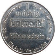1 Unichip - Uniwash (Führerschein) – obverse