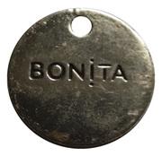 Shopping Cart Token - Bonita – obverse