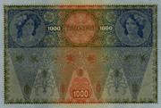 1000 Kronen (Second issue) – reverse