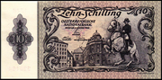10 Schilling (Second issue) – obverse
