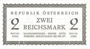 2 Reichsmark - U.S.S.R. Occupation Zone – obverse