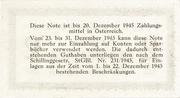 2 Reichsmark - U.S.S.R. Occupation Zone – reverse