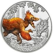 3 Euro (Deinonychus) -  reverse
