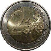 2 Euro (2nd map) -  obverse