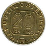 20 Schilling (Georgenberger Handfeste) -  obverse