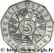 5 Euro (Grossglockner) -  reverse