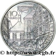 10 Euro (Basilisk of Vienna) -  reverse
