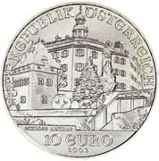 10 Euro (Ambras Palace) -  reverse