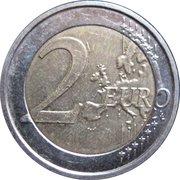 2 Euro (10 Years EMU) -  reverse