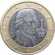1 Euro (1st map) -  obverse