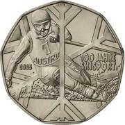 5 Euro (Sport Skiing) -  obverse