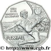 5 Euro (Soccer) -  reverse