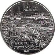 10 Euro (Klosterneuburg Abby) -  reverse