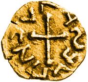 Tremissis - Agiulfus (Aventicum, Merovingian mint) – reverse