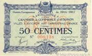 50 Centimes - Chambres de Commerce d' Avignon – obverse