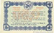 50 Centimes - Chambres de Commerce d' Avignon – reverse