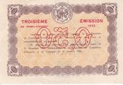 50 Centimes - Chambres de Commerce d' Avignon - 3éme émission – reverse