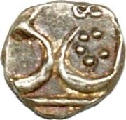1/16 Rupee - Amjad Ali Shah (Lucknow mint) – obverse