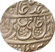 1 Rupee - Shah Alam II (Najibabad mint) – obverse