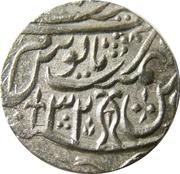 1 Rupee - Shah Allam II (Najibabad mint) – reverse
