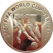 50 Manat (2006 FIFA World Cup) – reverse