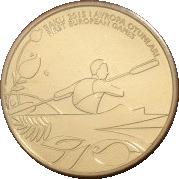 1 Manat (Canoe Sprint) – reverse