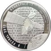 5 Manat (Azerspace-1) – reverse