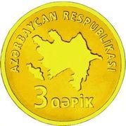 3 Qəpik (Gold) – obverse
