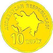 10 Qəpik (Gold) – obverse
