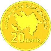 20 Qəpik (Gold) – obverse