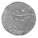 Abbasi - Mahdi Quli Khan Muzatfar – reverse