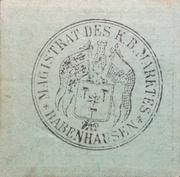 50 Pfennig (2nd Issue) – reverse