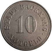 10 Pfennig - Backnang – obverse