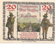 20 Heller (Bad Aussee) – reverse