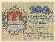 10 Heller (Bad Aussee) -  obverse