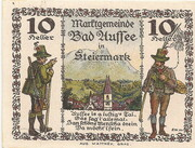 10 Heller (Bad Aussee) – reverse