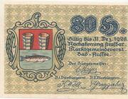 80 Heller (Bad Aussee) -  obverse