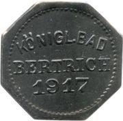 10 Pfennig - Bad Bertrich – obverse
